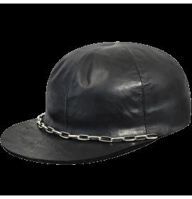 Leather Pit Cap