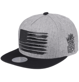 WITHMOONS Snapback Star and Stripes Flag Hat