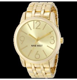 Champagne Dial Gold-Tone Bracelet Watch